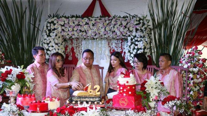 Wakil Bupati Minahasa Robby Dondokambey Rayakan HUT ke-62 di Rumah Dinas