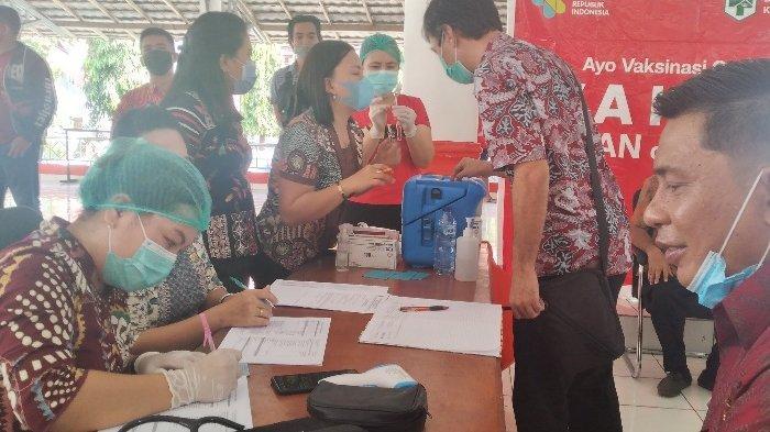 Dinkes Minsel Suntikkan 36.500 Dosis Vaksin Covid-19, Vaksinasi Massal Masih Berlangsung