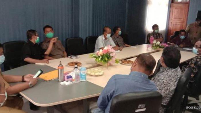Wakil Bupati Talaud Moktar Parapaga Gandeng FKUB Perangi Virus Covid-19