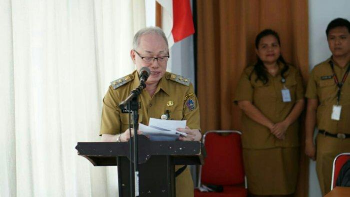Wabup Sitaro Ingatkan Kepala SKPD Harus Kuasai Kelitbangan