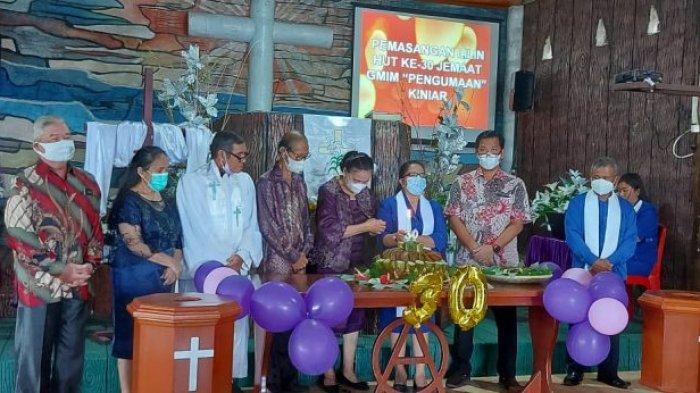 Perayaan Paskah, Wagub Sulut Ibadah Bersama Jemaat GMIM Miniar Tondano
