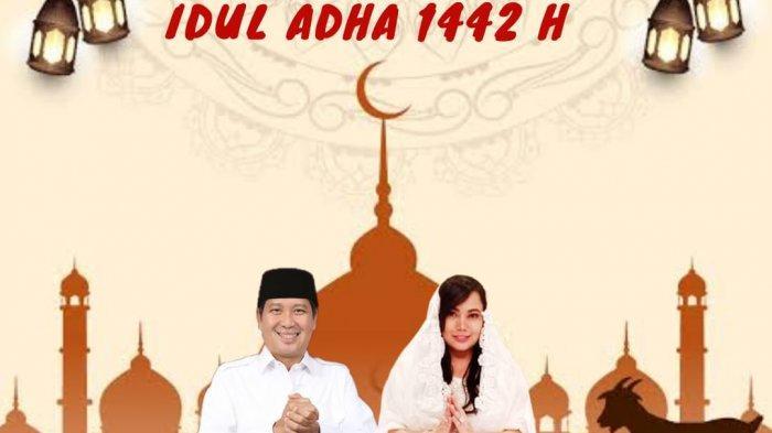 Steven Kandouw ucap Selamat Idul Adha, Makna Pengorbanan dan Keikhlasan di Masa Pandemi