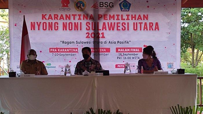 Wakil Gubernur Sulut Steven Kandouw membuka pemilihan Nyong Noni Sulut 2021