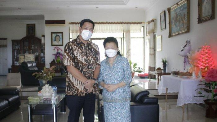 Pdt Yvonne Awuy HUT ke-75, Wakil Gubernur Sulut Steven Kandouw Ucapkan Selamat