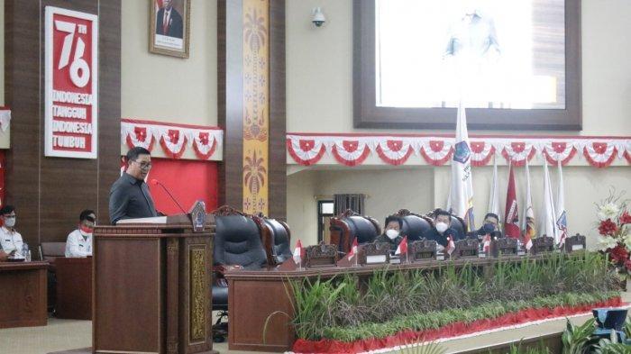 Wagub Sulut Steven Kandouw Apresiasi Kinerja DPRD, Sahkan APBD Perubahan 2021