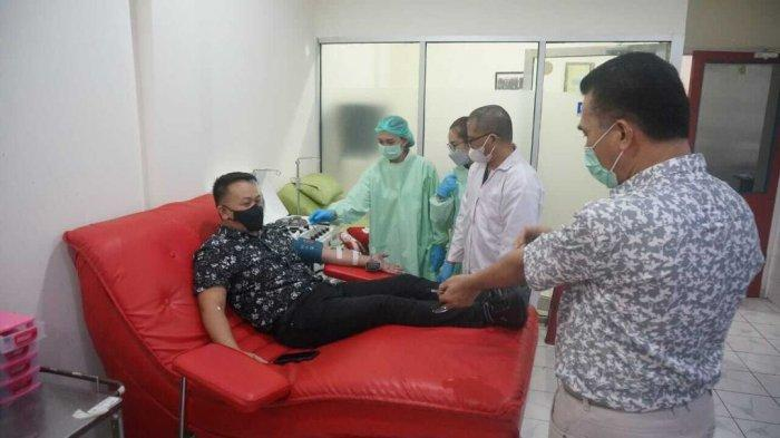 Ajak Donor Plasma Konvalesen, Wakil Ketua DPRD Boltim Medy Lensun: Saya Sudah Sekarang Giliran Anda