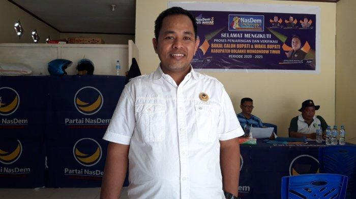 Harapan Politisi NasDem Boltim Muhammad Jabir Jelang Pelantikan Sachrul-Oskar