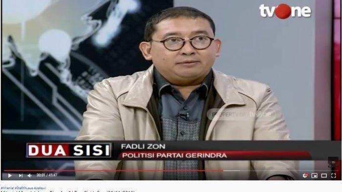 Fadli Zon Mulai Ragukan Kemampuan Menhan Prabowo, 3 WNI Disandra Abu Sayyaf, Usulkan Kivlan Zen