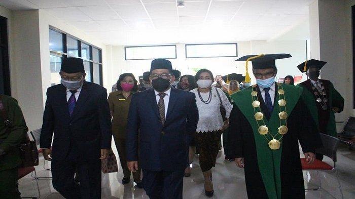 Wakil Menteri Agama RI Resmikan Gedung Fakultas Syariah IAIN Manado