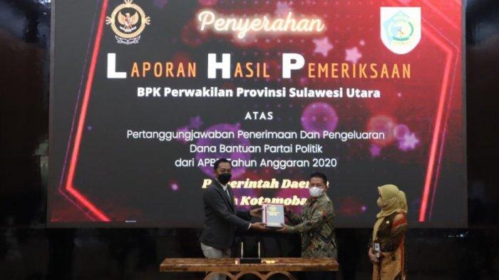 LHP Banpol Kotamabagu Dapat Hasil Baik dari BPK RI
