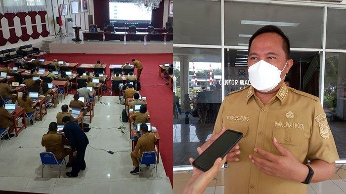 Wakil Wali Kota Manado Harapkan Loyalitas dari Pejabat Pemkot yang Ikut Uji Kompetensi