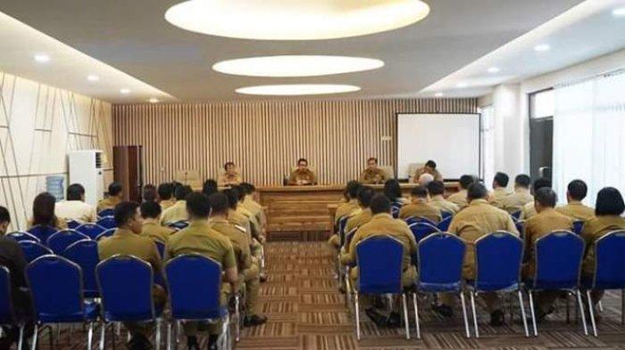 Pemkot Manado Rapat Koordinasi Penyaluran Bantuan Bencana di Palu-Donggala