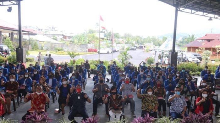 Terima 150 Mahasiswa Unima, Wawali Tomohon: Peserta KKN Diharapkan Bisa Berikan Masukan Positif