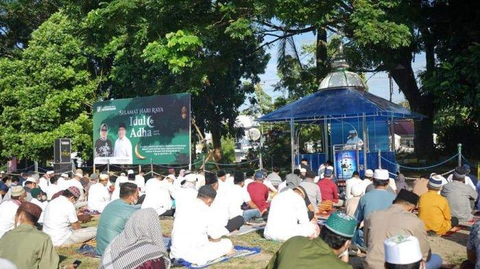Idul Adha di Kotamobagu, Nayodo Salat Ied di Lapangan Boki Hotinimbang, Tatong Ibadah di Rumah