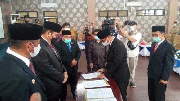 Wakili Gubernur Sulut, Christiano Talumepa Pimpin Serah Terima Bupati dan Wabup Boltim