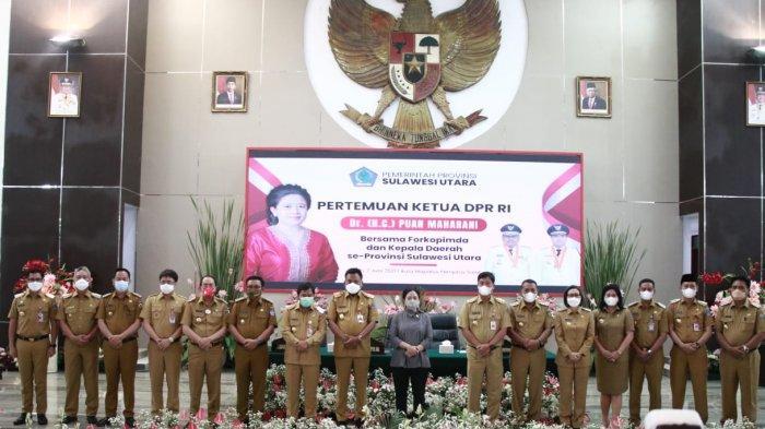 Pesan Ketua DPR Puan Maharani ke Pemimpin Kota Bitung Maurits dan Hengky