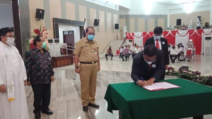 Wali Kota Bitung Maurits Mantiri Resmi Nakhodai PIKI Sulut
