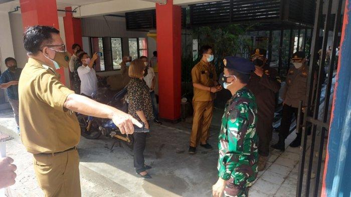 Rumah Sakit Darurat Covid 19 di Kota Bitung Terus di Kebut