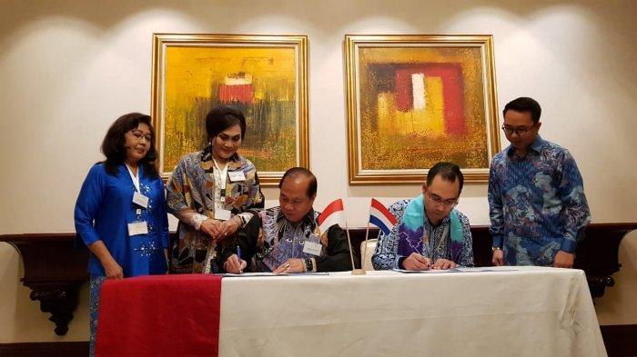 Wali Kota Max Lomban Tanda Tangan Kerja Sama Bidang Kesehatan dengan Belanda