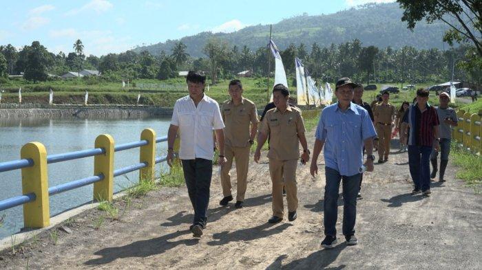 Genjot Sektor Pertanian, Lomban Studi Banding di Embung Wanua Ure Minut