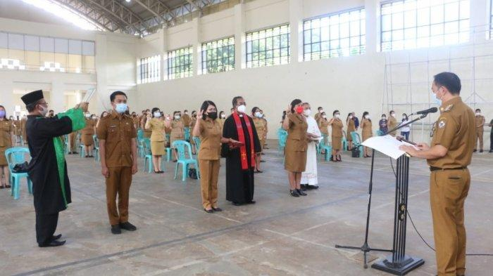 Tak Kunjung Dilantik Sejak 2018, 157 Pejabat Fungsional Akhirnya Dilantik Di Era Caroll-Wenny