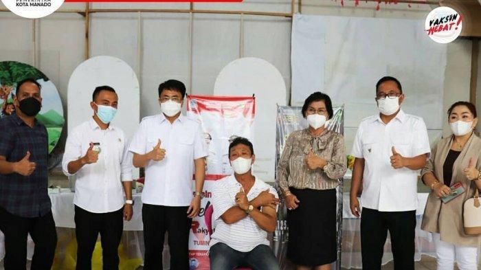 Pemkot Manado Targetkan Manado Kota Pertama Selesaikan Vaksinasi Covid-19