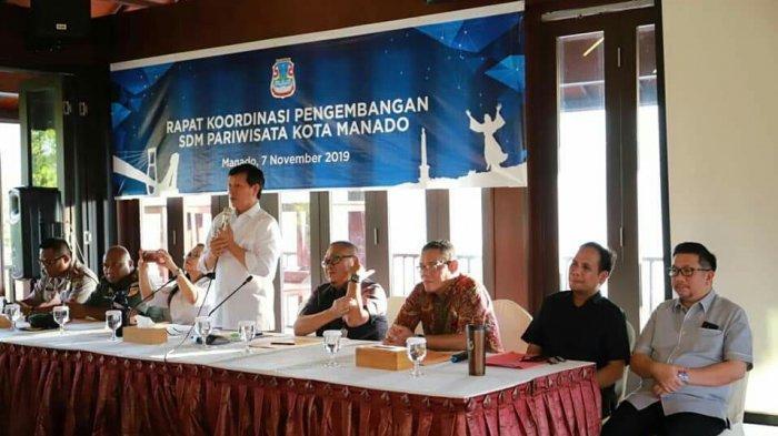 Wali Kota Hadiri Rapat Koordinasi Pengembangan SDM Pariwisata Kota Manado