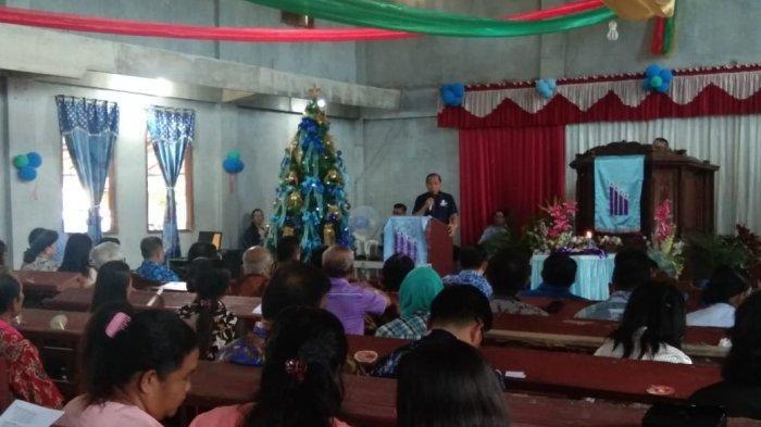 Wali Kota Ini Sampaikan Pesan Natal
