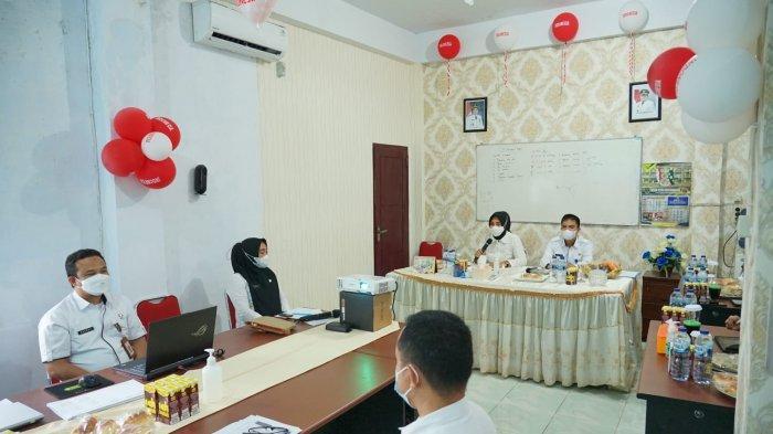 Wali Kota Tatong Bara Kunjungan Kerja ke Dinas PRKP Kota Kotamobagu