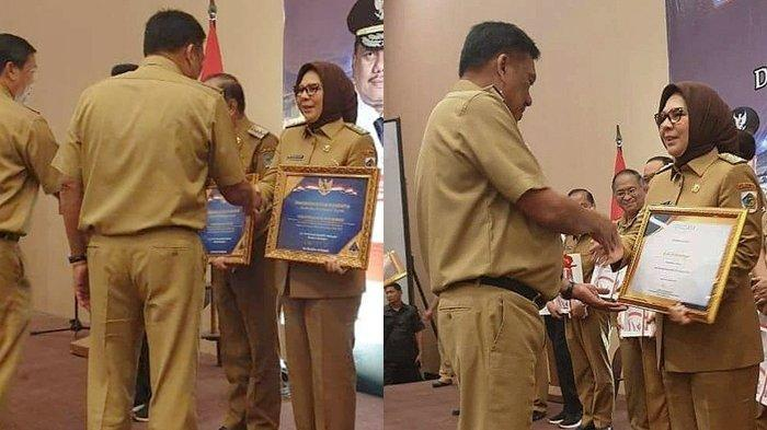 Wali Kota Kotamobagu Tatong Bara Bawa Pulang Dua Penghargaan Lagi, Juga DIPA