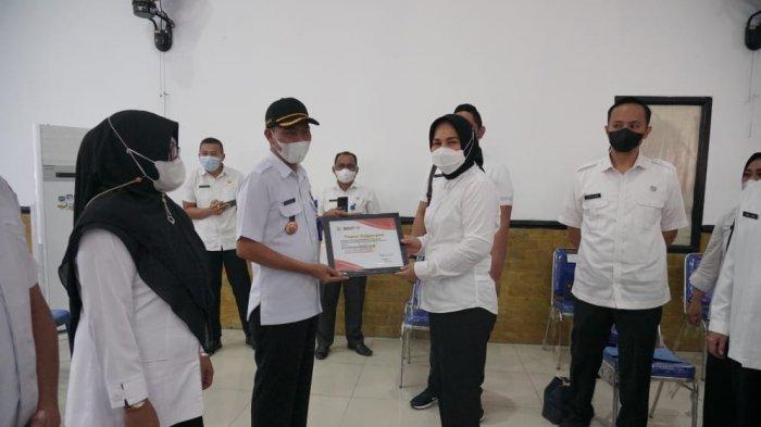 Kelurahan Mogolaing Sabet Juara Kotamobagu Award Bidang Sanitasi Tahun 2021