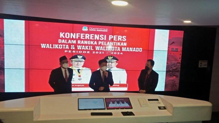 Kerja Kilat Andrei Angouw-Richard Sualang, Lima Lampu Jalan Terpasang Beberapa Jam Setelah Dilantik