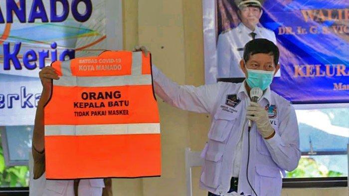 Pemerintah Siapkan Rompi Oranye Bagi yang Melanggar Protokol Kesehatan di Manado, Ada Tulisannya