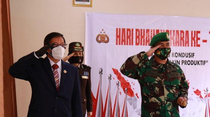 Wali Kota Hadiri Upacara HUT Bhayangkara ke-74, GSVL: Sukses Terus Polri