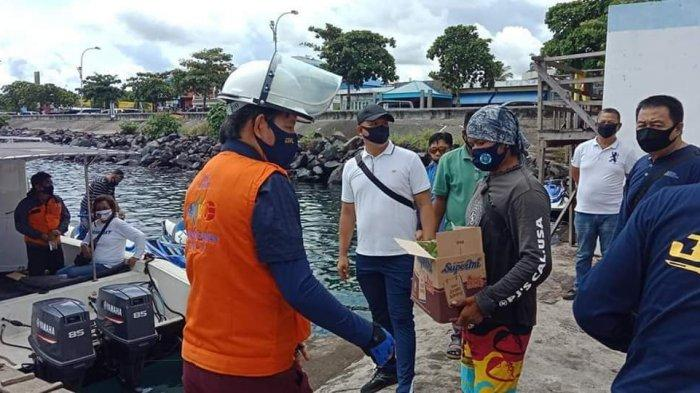 Wali Kota Sembangi Bunaken Kepulauan Dengan Membawa Bibit Cabai dan Jagung Menjaga Ketahanan Pangan