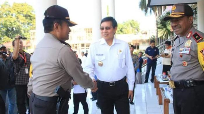 Pemkot Manado Dukung Operasi Mantap Brata Samrat 2018