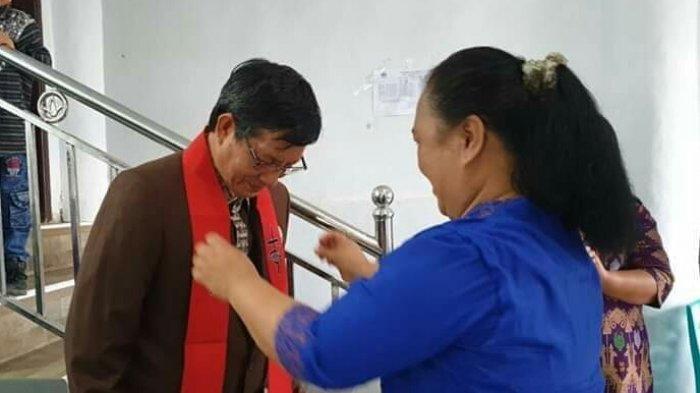 Wali Kota Manado jadi Khadim di Jemaat Syalom Pakuure Tiga
