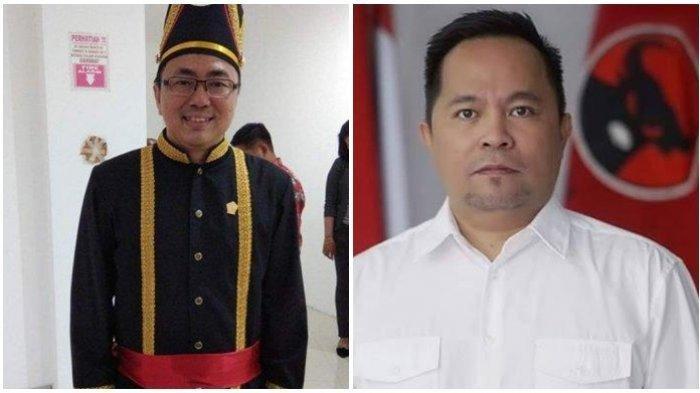 Wali Kota Manado terpilih Andrei Angouw dan Wakilnya Richard Sualang.