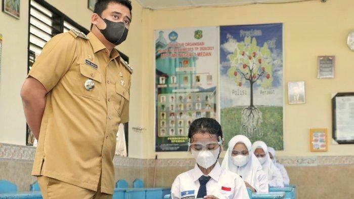 Wali Kota Bobby Nasution Bahas Sanksi bagi Sekolah Aktif Belajar Tatap Muka di Medan