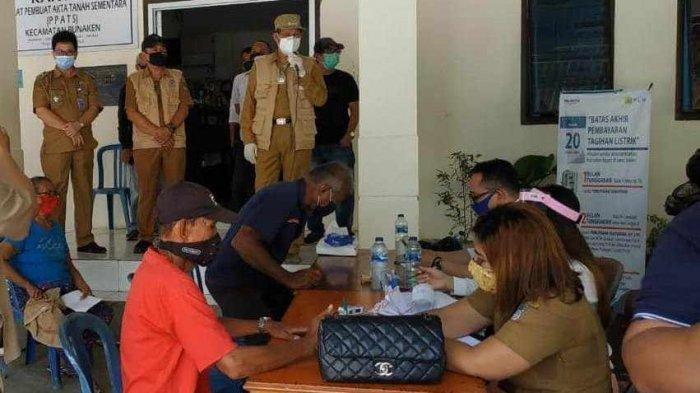 Dana Lansia di Kota Manado Disalurkan Serentak