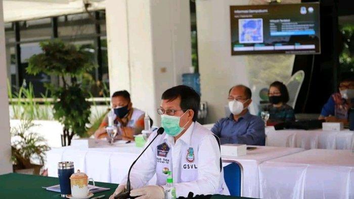 Pemkot Manado Ikut Kegiatan Penanganan Covid-19 Bersama KPK Melalui Video Zoom