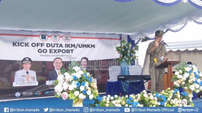 Wali Kota Sampaikan Kinerja Pemkot Terkait Capaian Perkembangan Perdagangan di Manado