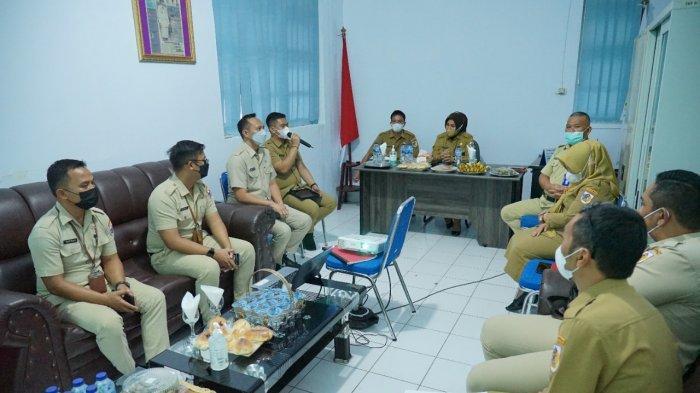 Evaluasi RPJMD, Wali Kota Tatong Bara Kunjungi 8 Kantor Bagian