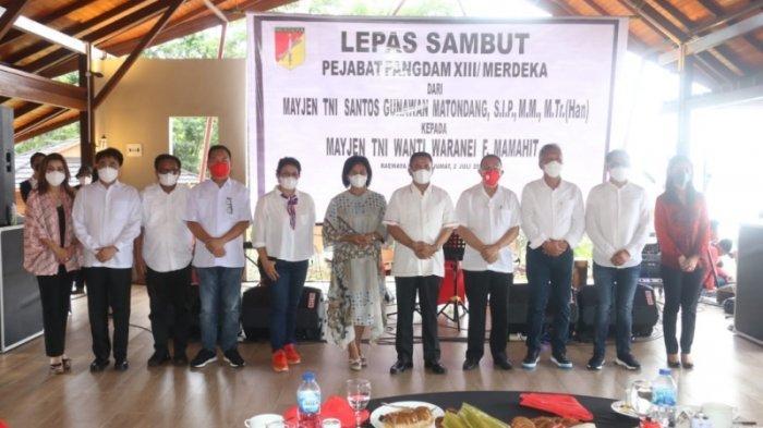 Caroll Senduk: Selamat Datang Pangdam XIII/Merdeka Mayjen TNI Wanti Waranei Mamahit