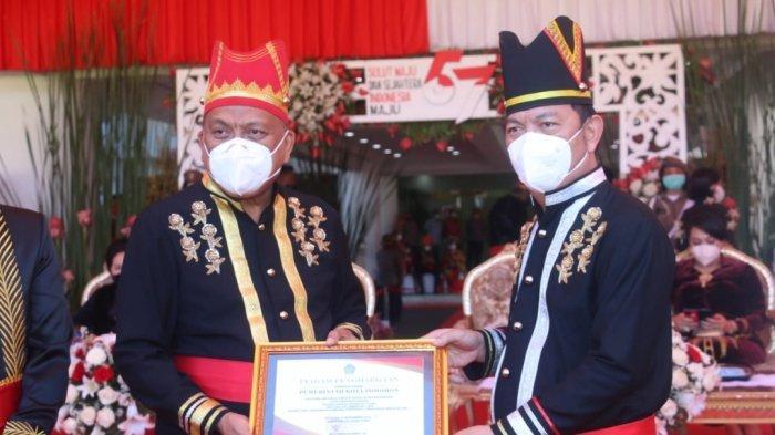 Momentum HUT Ke 57 Provinsi Sulut, Kota Tomohon Terima Dua Penghargaan