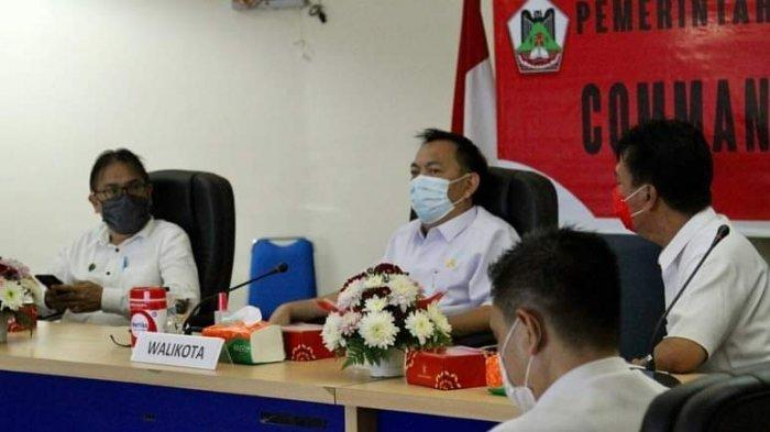 Wali Kota Tomohon Caroll Senduk Ikuti Rakornas Penanggulangan Bencana Tahun 2021