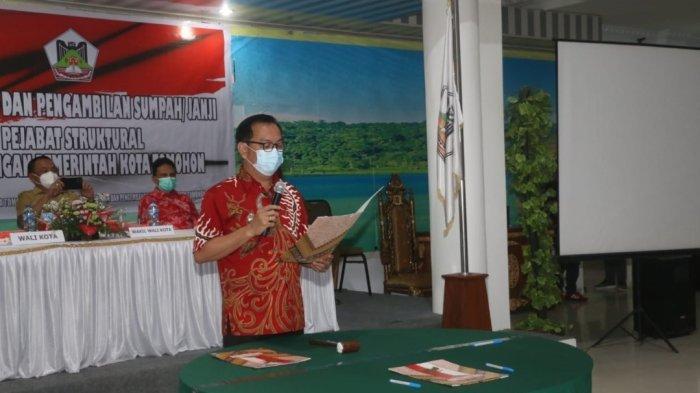 Wali Kota Tomohon Kembali Rombak Kabinet