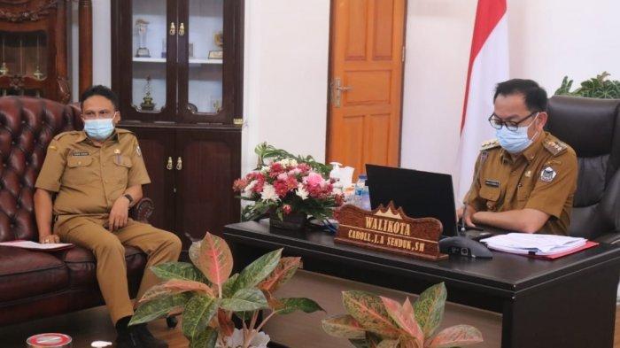 Ikut Rakorwasdanas dan Launching Pengelolaan MCP, Pemkot Tomohon Siap Tindaklanjut Arahan Ketua KPK