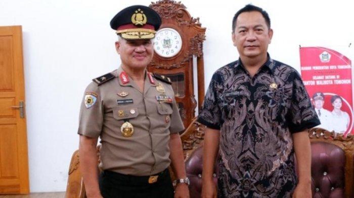 Sambut Kedatangan Jendral Roeroe, Wali Kota Tomohon Caroll Senduk: Kami Dapat Masukan Berharga