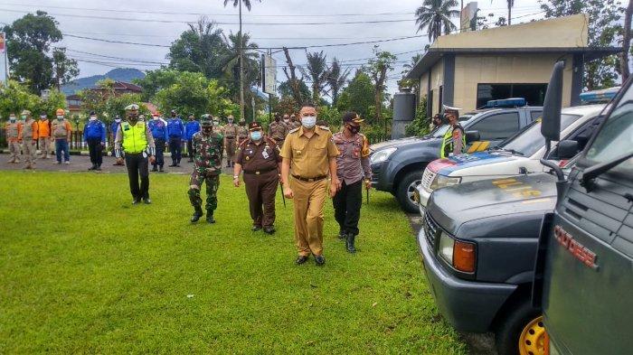 Wali Kota Tomohon Jimmy Eman Pimpin Apel Gelar Pasukan Operasi Lilin Samrat 2020